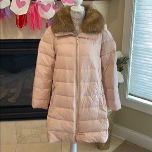 Kate Spade Pink Down Jacket